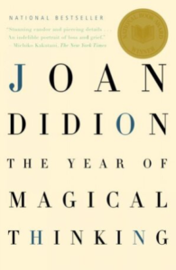Book Jacket for Joan Didion's The Year of Magical Thinking